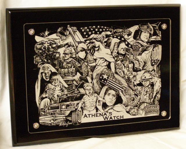 ATHENA'S Watch Acrylic