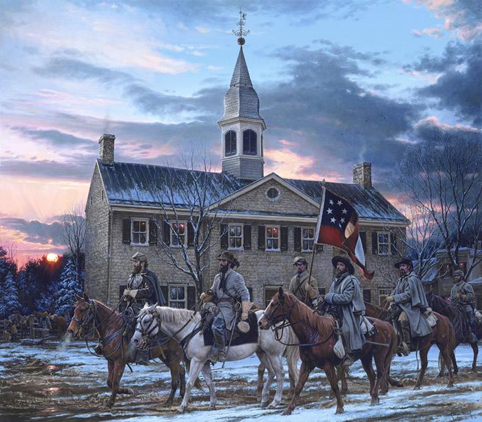 Defenders of the Valley by John Paul Strain
