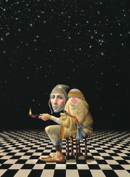 One Light by James Christensen