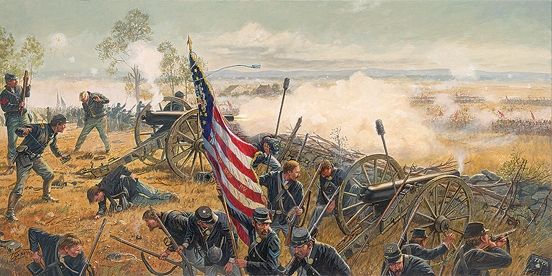 Gettysburg 150th Anniversary by Dale Gallon