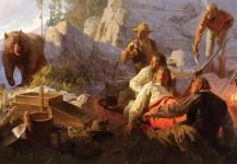 The Intruder, Angel´s Camp, California, 1849