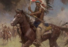 Lakota Warriors, Little Big Horn, June 25, 1876