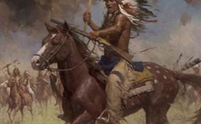 Lakota Warriors, Little Big Horn, June 25, 1876