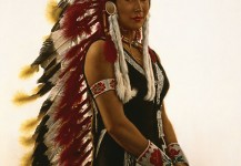 Indian Rodeo Performer