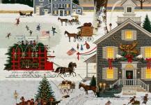 Cape Cod Christmas by Charles Wysocki