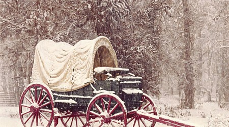 Chuck Wagon in the Snow