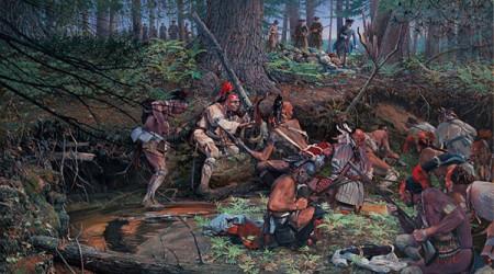 Ambush 1725 at Lovewell Pond