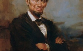Abe Lincoln Smiling